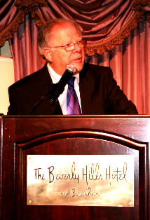 Bob Rieth speaking at the 12th Annual MFI Praise Brunch in Beverly Hills